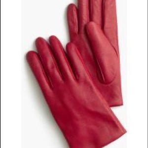 J.Crew leather gloves